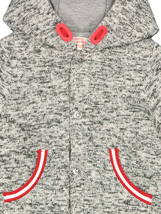 Warme Jacke aus Molton für Babys Jungen FUGROVES2 / 19SG10X2VES099