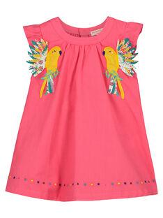Ausgestelltes Babykleid für Mädchen FICAROB4 / 19SG09D4ROB302