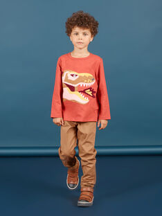 Hellbraune Hose für Jungen MOPAPAN / 21W902H1PANI802