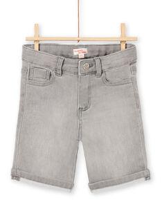 Baby Junge grau Denim Shorts LOTERBER4 / 21S902V2BERK004