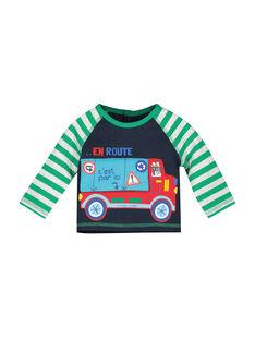 Baby-Sweatshirt aus Fleece für Jungen FUCOSWE / 19SG1081SWE705