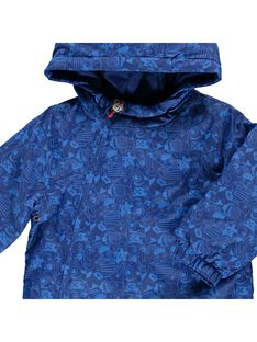 Baby boys' hooded jacket CUDEPAR / 18SG10F1PAR099