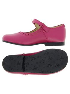 Girls' leather Mary-Janes CFBABSONI2 / 18SK35W5D3I030