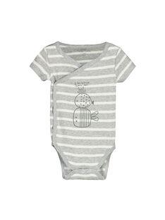 Unisex-Body mit kurzen Ärmeln für Babys FOU1BOD6 / 19SF7716BOD099