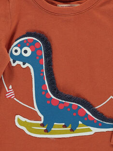 Baby boys' long-sleeved T-shirt DUPINTEE1 / 18WG10P1TML409