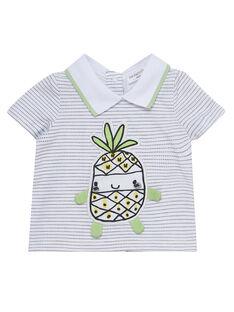 Weißes kurzärmeliges T-Shirt JOU2TI1 / 20SF04M1TMC000