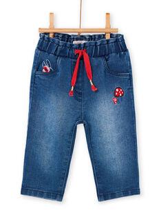 Baby Mädchen blaue Jeans LIHAPANEX / 21SG09X2PANP270