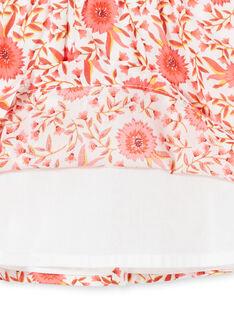 Baby Mädchen floral gedruckt Skater Kleid LINAUROB1 / 21SG09L2ROB001