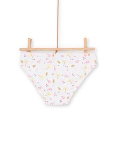 3er-Set rosa und gelbe Höschen für Kinder und Mädchen LEFALOTJAU / 21SH11G1D5L000