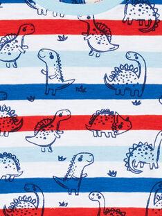 Gestreiftes T-Shirt kurze Ärmel Baby Junge LUCANTI / 21SG10M1TMC000