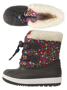 Après Ski mehrfarbiger Leopard Baby Mädchen GBFMONTNEA / 19WK37W1D3N070
