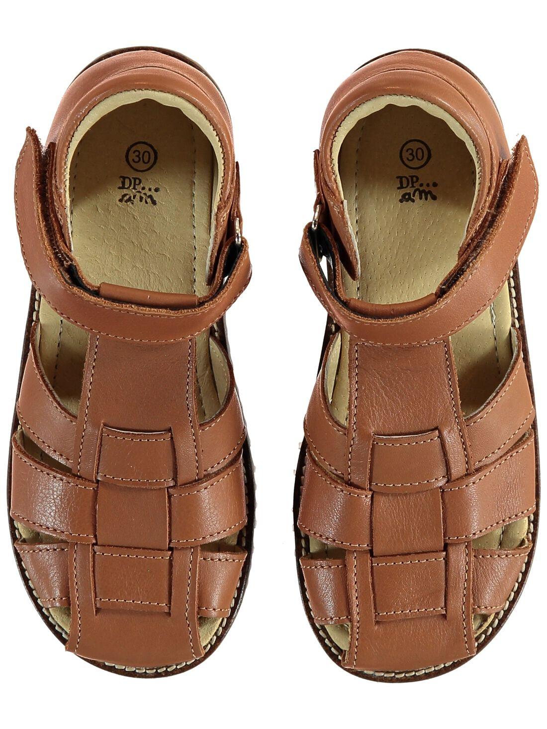 Braune Sandalen