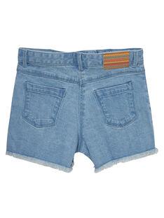Bestickte Jeans-Shorts JAMARSHORT / 20S901P1SHOP272