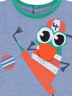 Fantasie-T-Shirt für Babys Jungen FUCATI2 / 19SG10D2TMC099