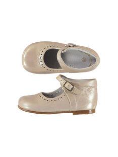 Mary Janes aus Leder für Babys Mädchen FBFBABPERF2 / 19SK37B1D13030