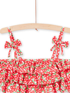 Baby Mädchen 2-teiliger rosa Badeanzug LYABIK1 / 21SI01DIMAI309