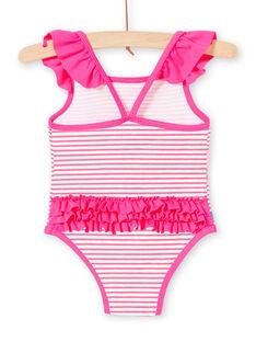 Rosa Baby Mädchen Badeanzug LYIMER2 / 21SI09DEMAID320