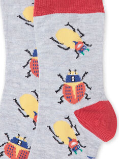 Paar Socken Kind Junge LYOROUCHO2 / 21SI02K1SOQJ922
