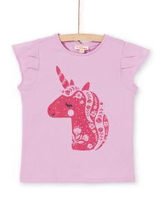 Lila und rosa T-Shirt LAJOTI2 / 21S90135D31320