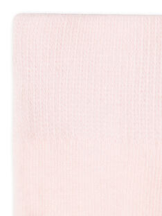 Rosa Strumpfhose Baby Mädchen LYIESCOL8 / 21SI0961COLD310