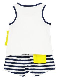 Set mit ärmellosem T-Shirt und Shorts für Babys Jungen FUPLAENS2 / 19SG10P2ENS000
