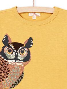 Baby Boy T-Shirt gelb MOSAUTEE1 / 21W902P3TMLB107