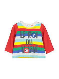 Langärmeliges Baby-T-Shirt für Jungen FUCOTEE1 / 19SG1081TML099