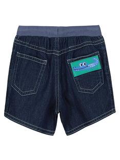 Jeansshorts für Babys Jungen FUJOBERMU6 / 19SG10G3BER704