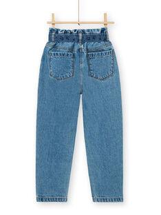 Jeanspapiertasche und blauer Baumwollgürtel LABLEJEAN / 21S901J1JEAP274