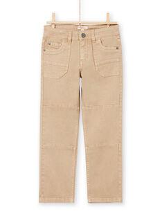 Beige Jeans für Jungen MOCOPAN / 21W902L1PAN811