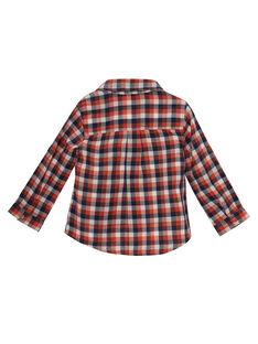 Kariertes Baby-Hemd für Jungen JUVICHEM / 20SG10D1CHM001