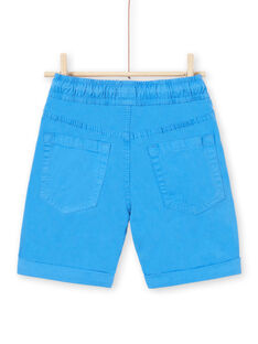 Bermudashorts blau Kind LOJOBERMU1 / 21S902F6BERC209
