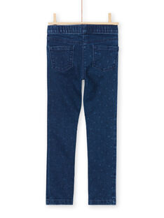 Mädchen-Jeans-Effekt-Jegging MAJOJEG1 / 21W90115PANP271