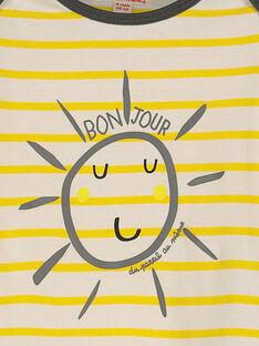 Langärmeliges Baby-T-Shirt für Jungen FULITEE4 / 19SG1024TML099