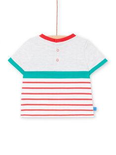 Graues T-shirt Baby Junge LUVITI2 / 21SG10U2TMCJ920