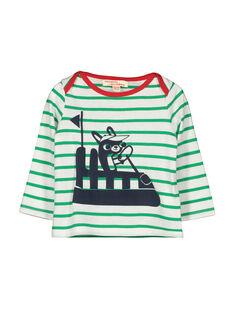 Langärmeliges Baby-T-Shirt für Jungen FUCOTEE3 / 19SG1083TML099