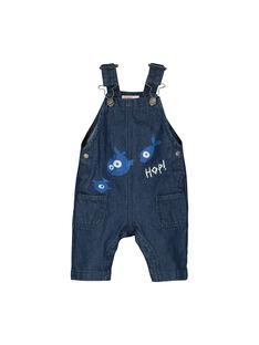 Baby-Latzhose aus Denim für Jungen FUNESAL / 19SG10B1SAL704