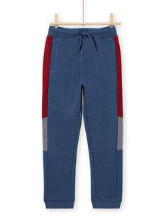 Marineblauer und roter Jogginganzug für Jungen MOPAJOG / 21W902H1JGB219