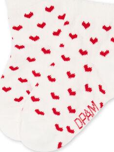 Layette-Socken für Mädchen LYIJOSOQ3 / 21SI0932SOQ001