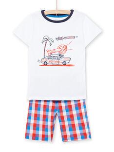 Weißer Pyjama Kind Junge LEGOPYCOMAR / 21SH12C3PYJ000