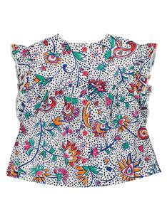 Bedruckte Baby-Bluse für Mädchen FITOCHEM / 19SG09L1CHE000