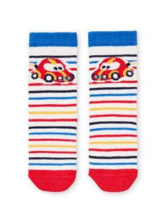 Baby Junge gestreifte Socken LYUHACHO1 / 21SI10X1SOQ001