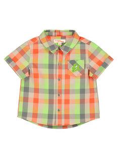 Kariertes Hemd für Babys Jungen FUYECHEM / 19SG10M1CHM099