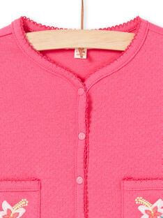 Baby Mädchen rosa Weste LIBONCAR / 21SG09W1CAR302