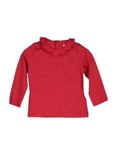 Langärmeliges Baby-T-Shirt für Mädchen FIJOBRA3 / 19SG0933BRA050