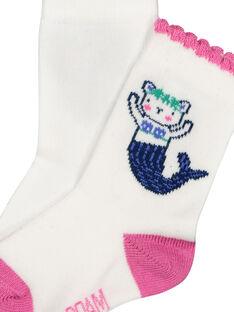 Socken mit Meerjungfrau für Babys Mädchen FYINECHO / 19SI09B1SOQ000