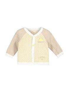 Baby-Strickweste für Jungen FUPOGIL / 19SG10C1GIL099