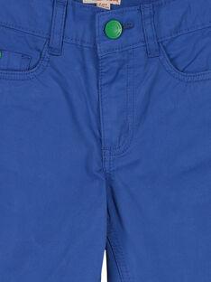 Blaue Bermuda-Shorts für Jungen FOCOBER2 / 19S90282BER703