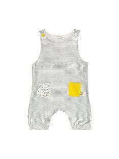 Unisex Latzhose mit Fleecefutter für Babys FOU1SAL / 19SF0511SAL099