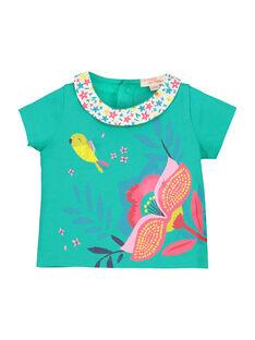 Kurzärmeliges T-Shirt für Mädchen FICABRA / 19SG09D1BRA209